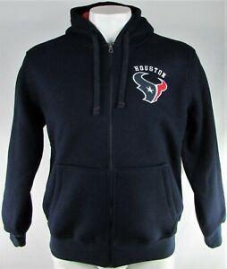 Houston Texans NFL G-III Men's Knit Fleece Lined Full-Zip Hooded Sweater