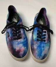 Vans Skate Shoes RARE Painted Purple Sky Star. Size: M 6, W 7.5
