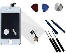 Ersatz LCD Display Touchscreen komplett Set für iPhone 4 G weiß inkl Backcover