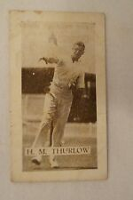 Vintage - Allens - Collectable Cricket Card - H.M. Thurlow - Queensland