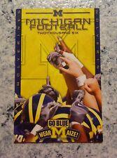 2006 Michigan Football Schedule Magnet Go Blue Wear Maize! FREE Shipping