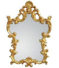 XXL Espejo de pared antiguo Barroco ROCOCO 76 x 110cm en dorado espejo NUEVO woe