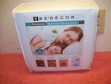 "Mattress Protector Zippered Encasement Bed Bug Waterproof Matress Cover King 18"""