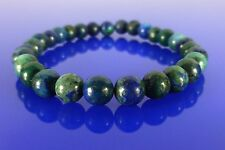 Natural Chrysocolla Bracelet Therapeutic Gemstone 6mm