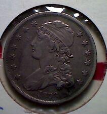 1838  Bust quarter , XF