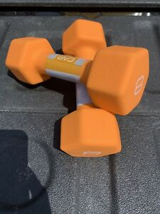 CAP Hex Neoprene 8 lb Pound Set 16 lbs Dumbbell Weight New IN HAND SHIP ASAP