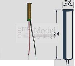 SEUTHE 12E - Dispositivo fumogeno 16 - 22 V CC o CA. per locomotive a vapore