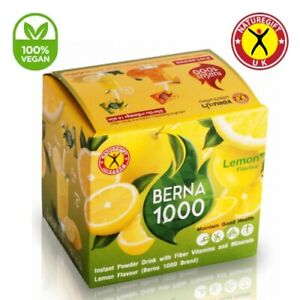 NatureGift Berna 1000 Lemon Natural Weight Loss Slimming Drinks 10 Sachets