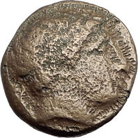 Philip II 359BC Olympic Games HORSE Race WIN Macedonia Ancient Greek Coin i64630