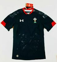Under Armour pour Homme 2017/18 Galles Gameday Extérieur Maillot Rugby 1298979