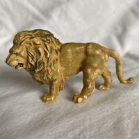 Vintage Britains Ltd Lion Figurine ~ Hard Plastic ~ Circa 1970's