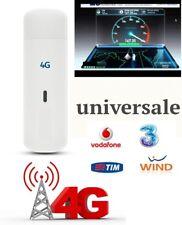 ZTE 4G LTE 100Mbps MF820D Chiavetta Internet Key USB per PC Computer Portatile