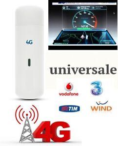 CHIAVETTA INTERNET KEY INTERNET 4G/3G CHIAVETTA 4G UNIVERSALE