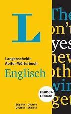 Langenscheidt Abitur-Wörterbuch Englisch - Buch und App (Mixed media product)