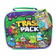 Boys Lunch Box Bag Trash Pack Gross Gang Travel School Children Insulated Food