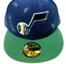premium selection ee474 c36f3 New Era NBA Utah Jazz 59Fifty Fitted Hat Baseball Cap Basketball sz 7 1 2