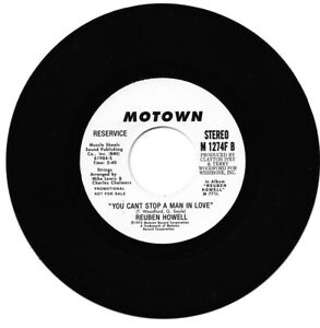 Reuben Howell You Can't Stop A Man In Love/Same  Northern Soul Listen