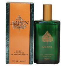 ASPEN * 4 / 4.0 Oz - 118 ml * EDC Cologne Spray For Men * BRAND NEW IN BOX *