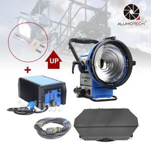 Up As M18 HMI Par Light+1800W&1200W E-Ballast Flicker Free+Cable+Bulb For Studio