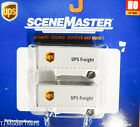 Walthers SceneMaster HO 949-2551 UPS Treight Trailers 1:87th Scale Plastic
