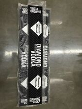 Lot of 3 -DIAMOND VODKA BAR RAIL SPILL MAT RUNNER STRIP - NEW!