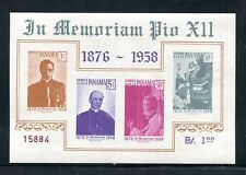 Panama C212a, MNH. Pope Pius XII, in Memory, 1959.x29799