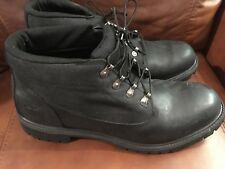 """Timberland Style 6642A Earthkeepers Campsite 6"""" Mens Sz 14 Black Boots"""