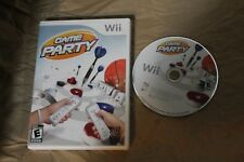 USED Game Party Nintendo Wii (NTSC) Canadian Seller!!