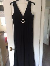 Jovani noir robe longue, taille 20