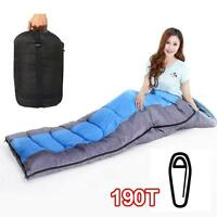 Mummy Sleeping Bag Zip Outdoor Camping Hiking Season case suit Large Festival