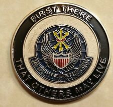 24th Special Tactics Squadron Tier 1 SMU Pararescue Air Force Challenge Coin V5