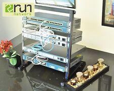 Cisco CCENT CCNA CCNP R&S VOICE SECURITY Home Lab KIT Premium 12U Rack Incl