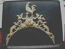 Fronton type 18e réplik clock UHR horloge comtoise coq fleur lys lanterne 1