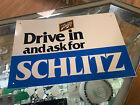Schlitz Beer Tin Advertising Sign- 12017