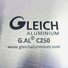 "New listing .25"" thick 1/4 Precision Cast Aluminum Plate 6.875""x 11"" Long Qty 3 sku175004"