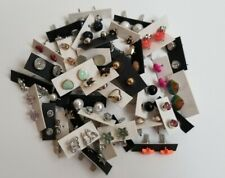 Wholesale lot of 50 Pairs of Stud Earrings New