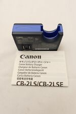 Canon CB-2LS battery charger.
