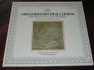 Schallplatte LP - Gregorianischer Choral Benediktinerabtei Münsterschwarzach