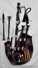 Highland Bagpipes Rosewood Silver Amounts/Scottish Bagpipes//Dudelsack,Gaita