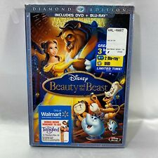 Disney's Beauty and the Beast Blu Ray DVD Set Diamond Edition NEW Sealed