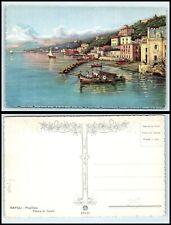"""Vintage ART Postcard - """"Napoli - Posillipo"""" by Giuseppe Carelli AB"""