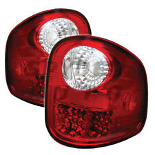 Ford 97-03 F150 Flareside Red Clear  LED Euro Style Rear Tail Lights Lamp Set