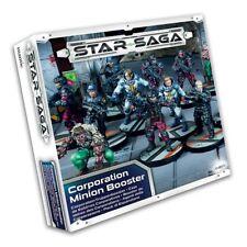 STAR SAGA CORPORATION MINION BOOSTER - NECROMUNDA - MANTIC  - SHIPPING NOW