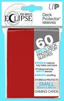 60 ULTRA PRO ECLIPSE APPLE RED SMALL Size PRO-MATTE DECK PROTECTOR Card Sleeves