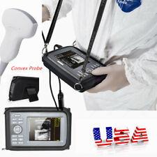 Pro Digital Ultrasound Scannerconvex Probe Pregnancy Handheld Monitor Machine
