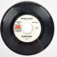 Gladstone - What A Day/Upsome - 1969 AM Records 1061 PROMO Psych Rock