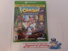 * New * Crash Bandicoot N. Sane Trilogy - Xbox One * Sealed Game *