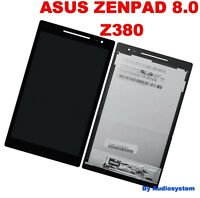 DISPLAY LCD +TOUCH SCREEN ASUS ZENPAD 8.0 Z380 Z380KL P024 NERO VETRO NUOVO