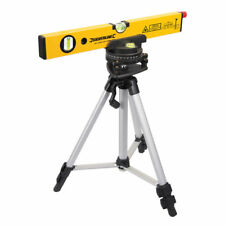 Silverline 30m Laser Level Spirit Level Cross Line Measuring & Stand + Case SL01