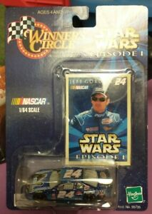 Winners Circle 1999 Jeff Gordon #24 Pepsi Car Star Wars Episode I 1:64 Scale
